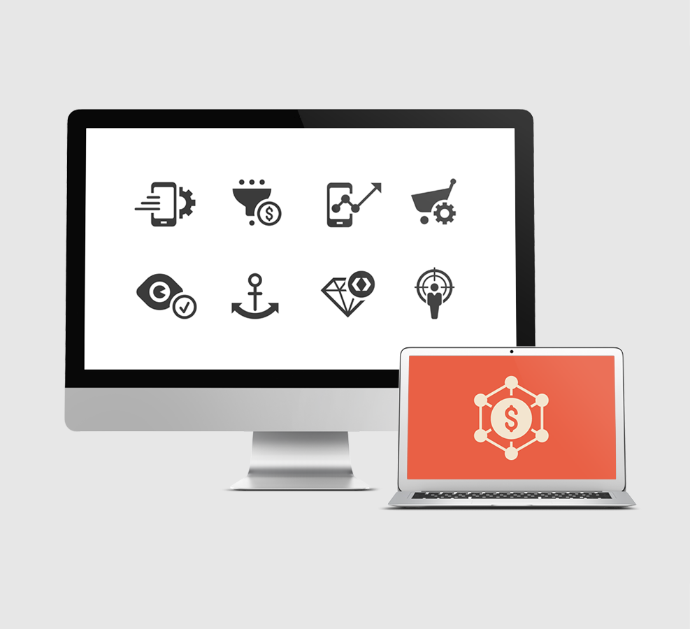 SEO Internet marketing icons prime series