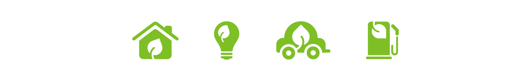 green environmental icon series
