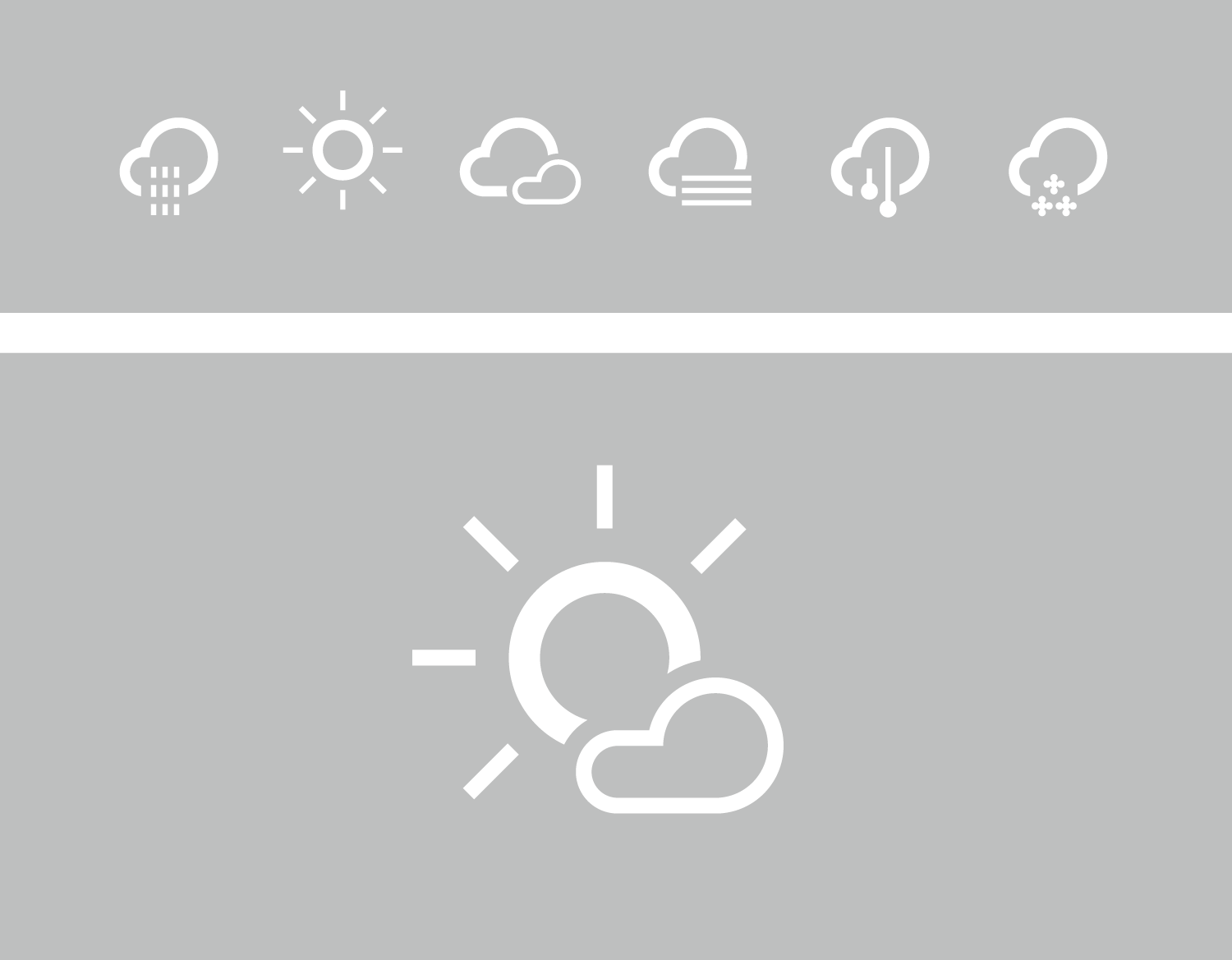 weather-forecast-icons-contour-outlined-design
