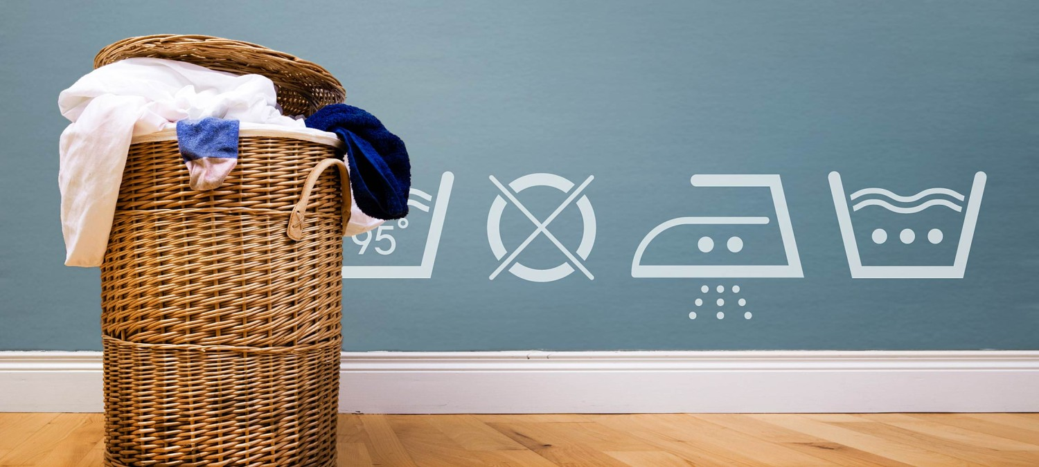 vinyl wall decals laundry icons
