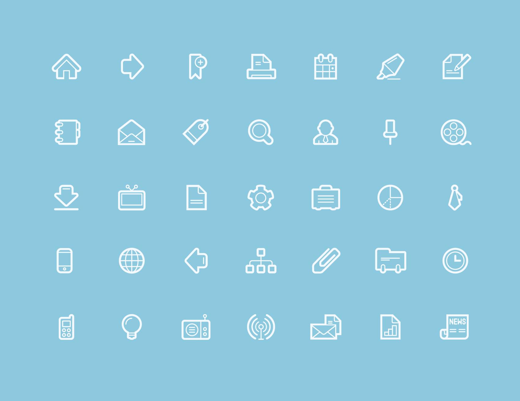 contour app icons